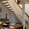 Kvartsvings trappe m.rustfri gelænder TT94 VRL