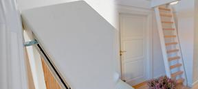Praktisk og elegant hemsetrapp