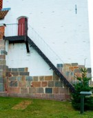 Kopitrappe til Visborg Kirke