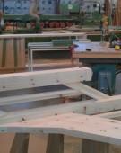 prøve samling af trappe med TT62 balustre gelænder
