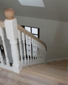 Åben trappe i ask fra Top Wood