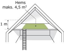 Regler for brug af indskudte etager til hems