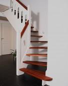 trappe 37 merbau klodstrin ved vaeg