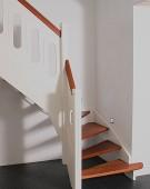 trappe 37 med merbau trin