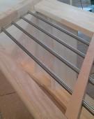 prøve samling af trappe med TT94 VRL gelænder