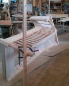 kvartsvingstrappe med Assens snegl prøvesamles hos Top Wood